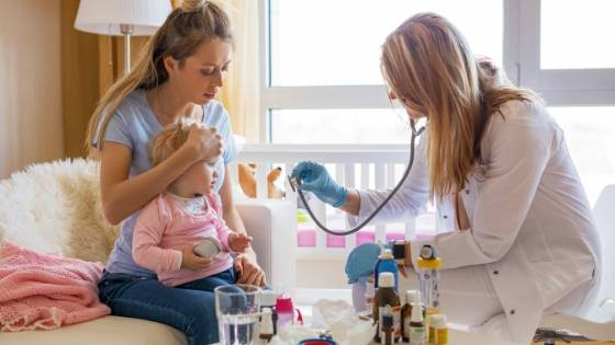 Baby Erkältung Arzt