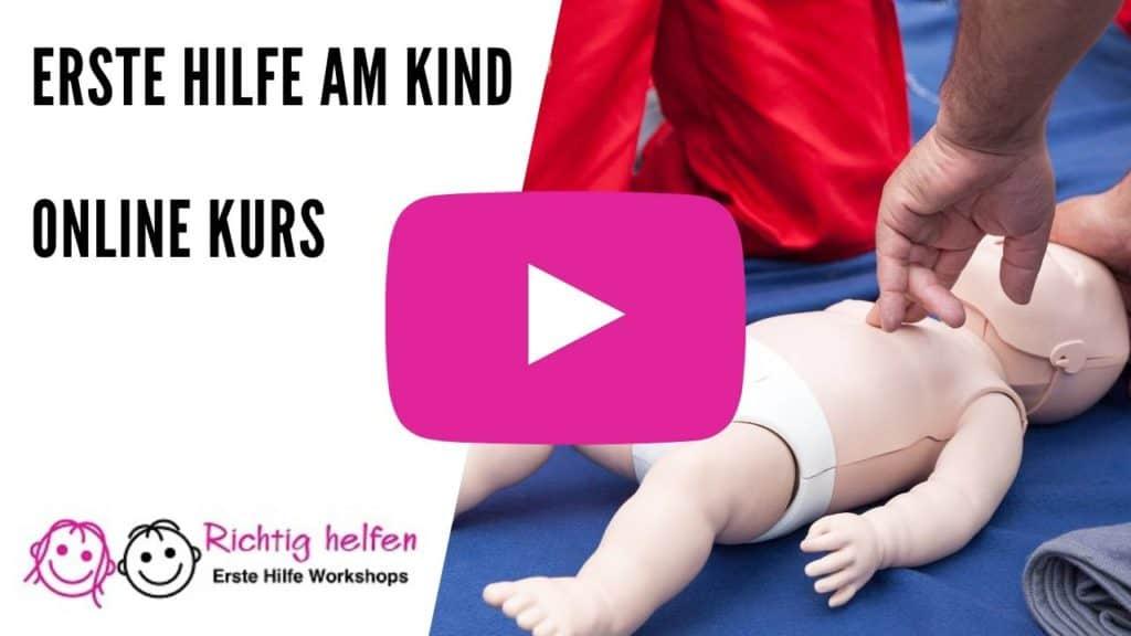 Erste Hilfe am Kind - Online Testen