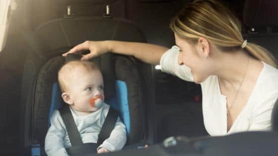 baby kindersitz autofahrt