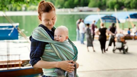 Baby tragen