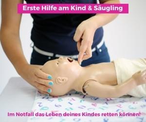 Erste Hilfe am Kind