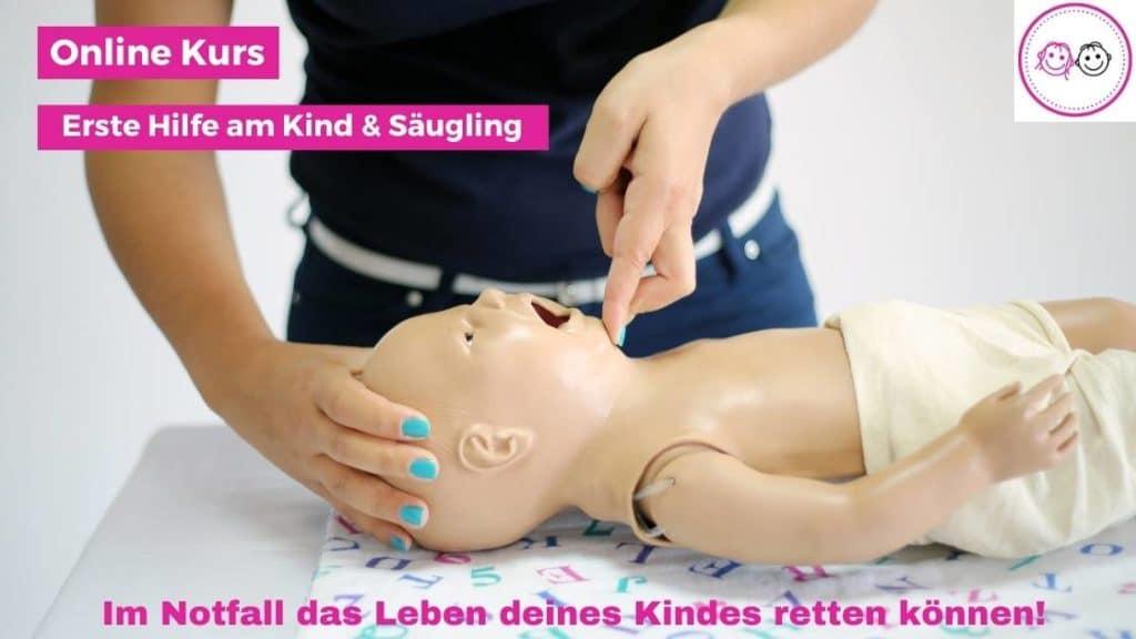 Erste Hilfe am Kind & Baby Online Kurs